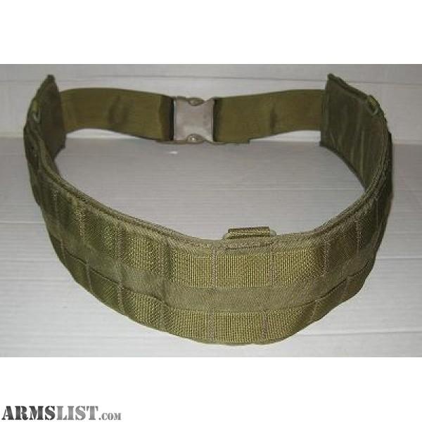 For Sale: USMC Eagle Industries Padded War Belt Molle System (NEW)