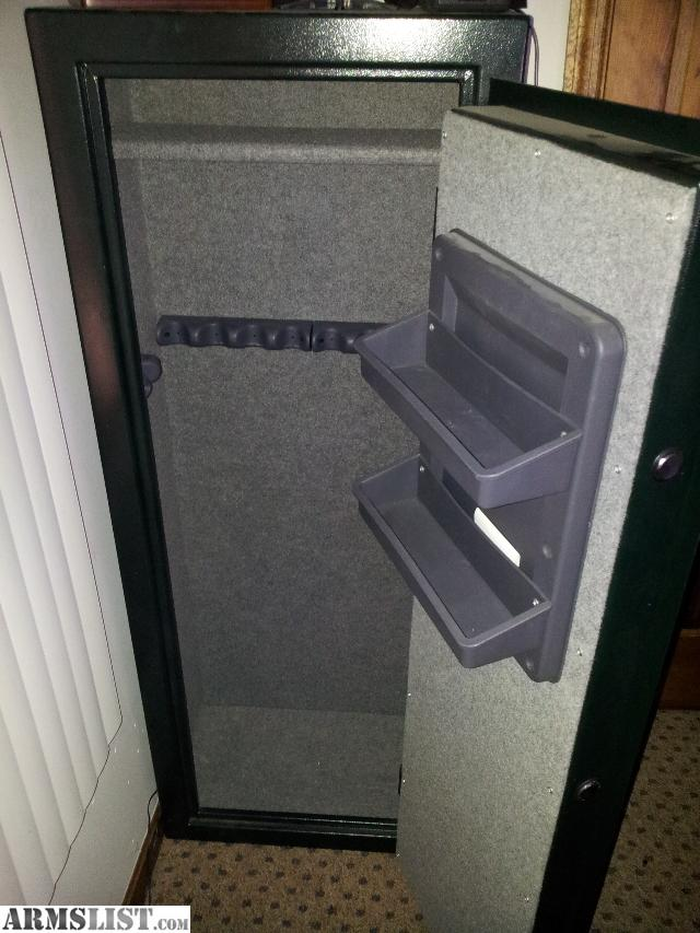Older Model Stack On 10 Gun Safe. Convertible Interior Has Room For 10 Guns  With Removable Shelf And Door Organizer. Removable And Carpeted Shelf Is ...