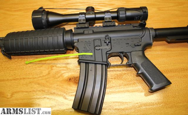 For Sale: Bushmaster AR-15 .223/5.56mm NATO