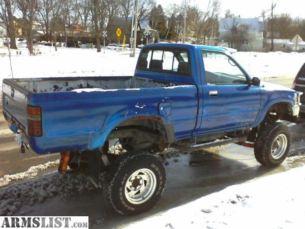 armslist for sale trade 1993 toyota 4x4 pickup 5 speed lifted. Black Bedroom Furniture Sets. Home Design Ideas