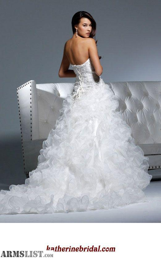 ARMSLIST - For Sale/Trade: DAVID TUTERA WEDDING DRESS( NO ALTERATIONS )