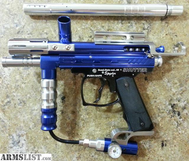 spyder pilot paintball gun manual