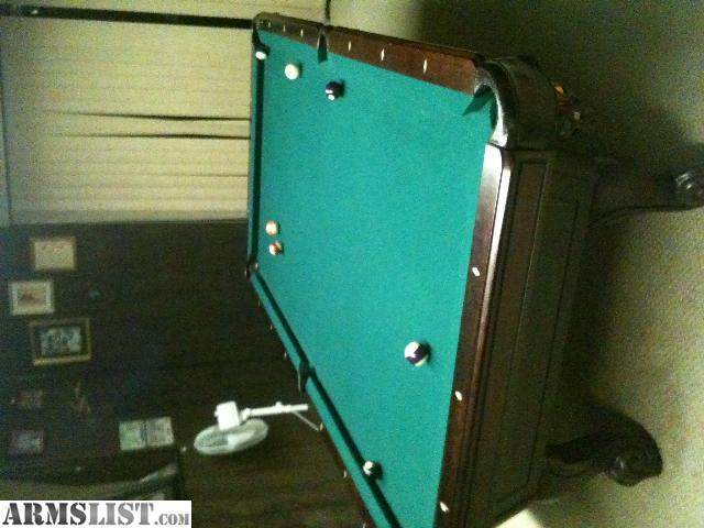 Armslist for sale trade professional 8ft 3 piece slate for 10 ft pool table for sale