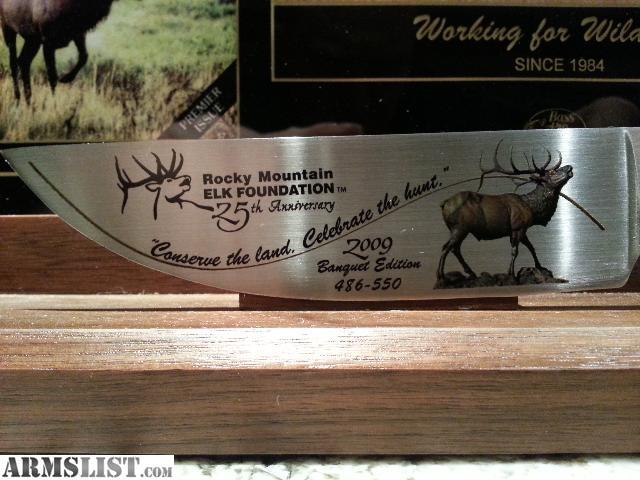 ARMSLIST - For Sale: Rocky Mountain Elk Foundation 2009 ...