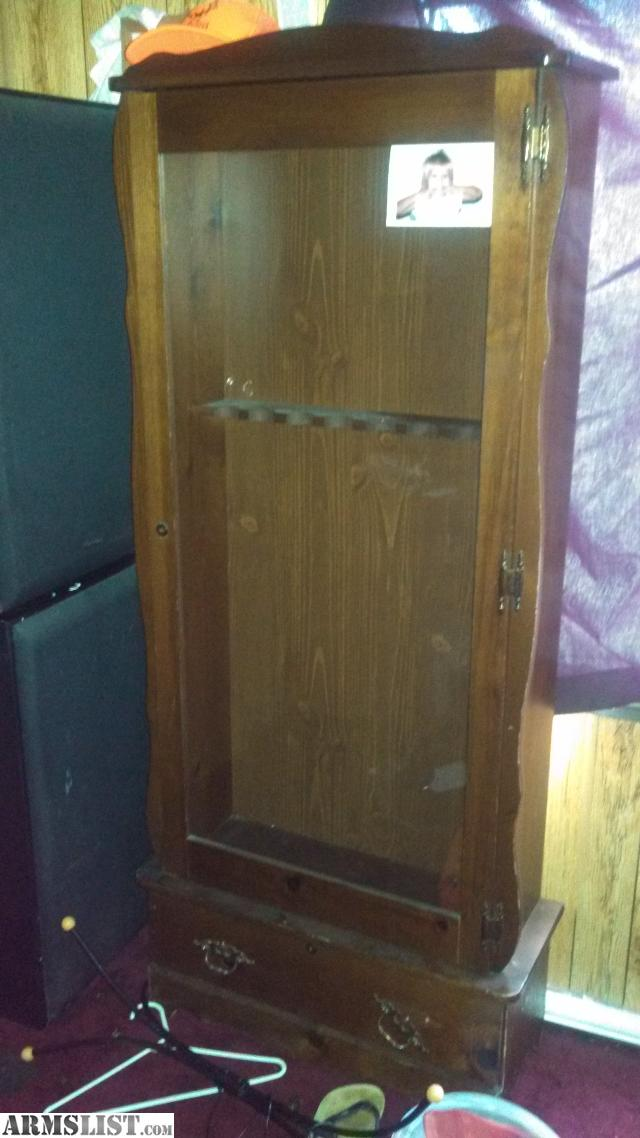 trade wooden long gun cabinet like b n condish listed in gun safes