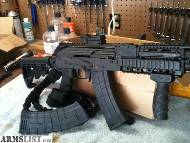 ARMSLIST - For Sale/Trade: Custom Tactical AK74 (5.45x39)