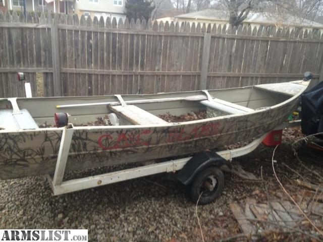 Boats aluminium flat bottom