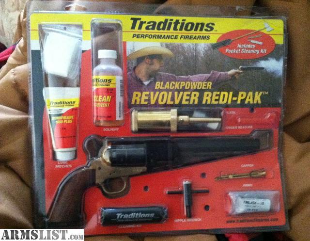Black Powder Revolver Kits To Build