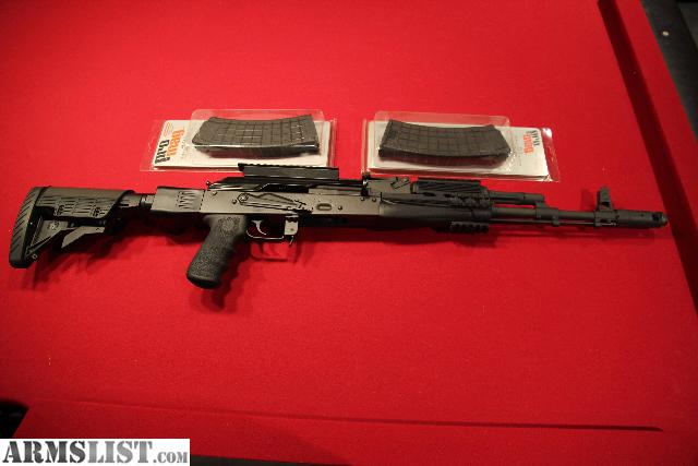 ARMSLIST - For Sale: AK-74 (5.45x39) With Tactical ...
