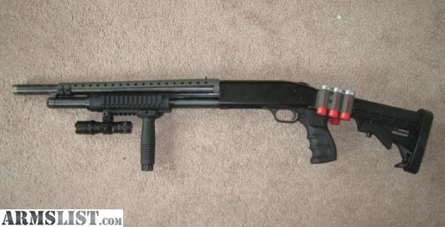 ARMSLIST - For Sale: Tactical Home Defense Mossberg 500