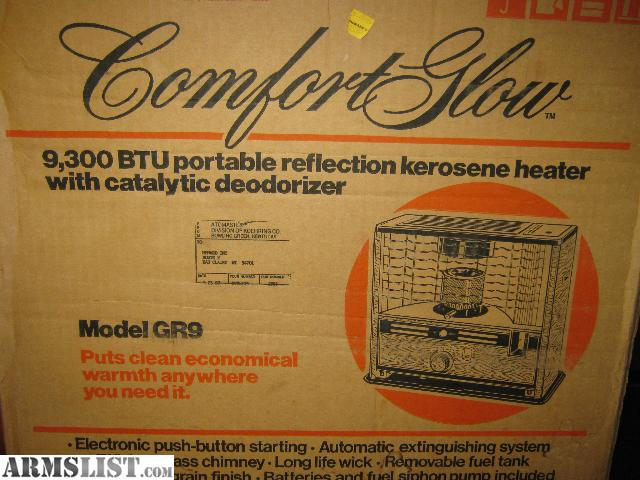 Armslist For Sale Trade Kerosene Heater Comfort Glow By