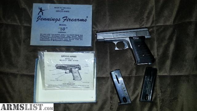Jennings Bryco 59 manual