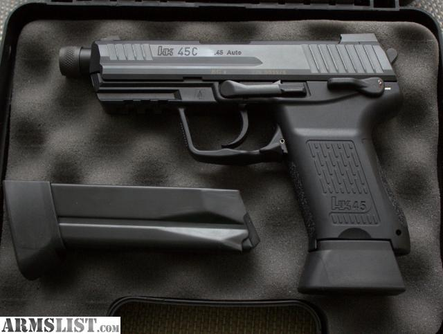 ARMSLIST - For Sale/Trade: New HK45C Tactical, HK45CT V1 ...