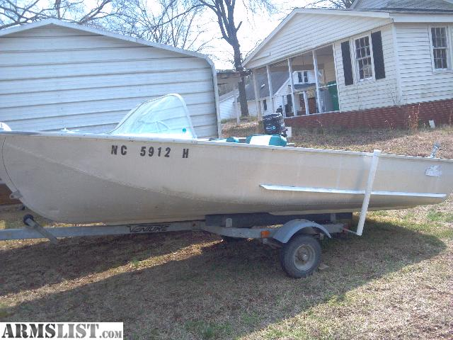 For Sale DURATECH 14 Ft Meteor Runabout ALUMINUM BOAT ALL ORIGINAL