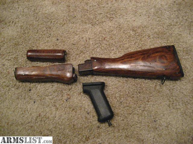 I purchased the rifle from Dunhams 3 years ago and refinished all the wood  stock  Finish is like glass  I then switched over to a plastic stock kit. ARMSLIST   For Sale  Complete Wood Furniture WASR 10 63 Romanian