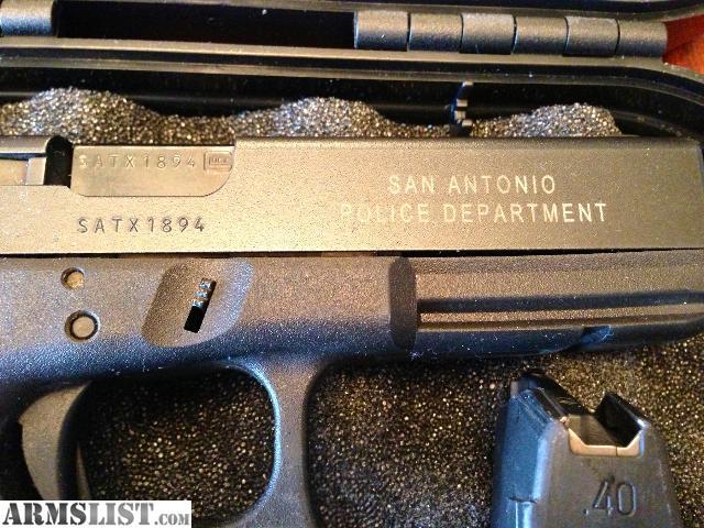Armslist For Sale Glock 22 San Antonio Pd Trade In 40