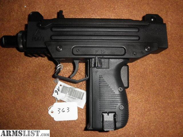 Uzi 22lr pistol