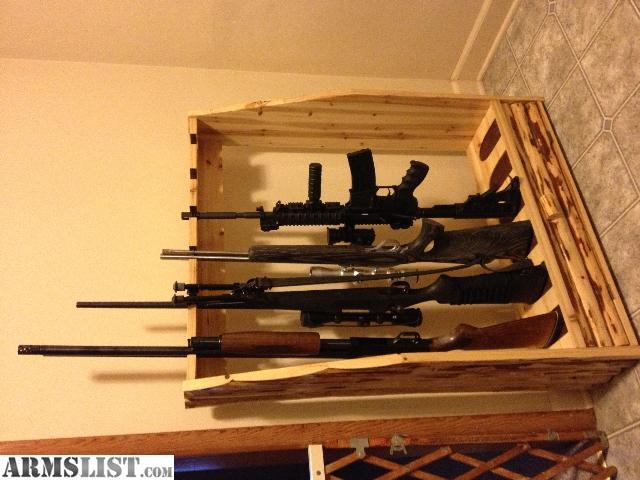 ARMSLIST For Sale Nice vertical 6 rifle gun rack