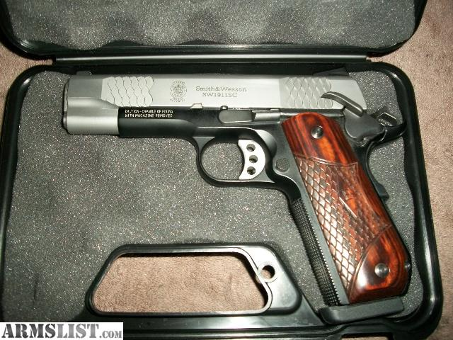 ARMSLIST - For Sale: Smith & Wesson E-series 1911