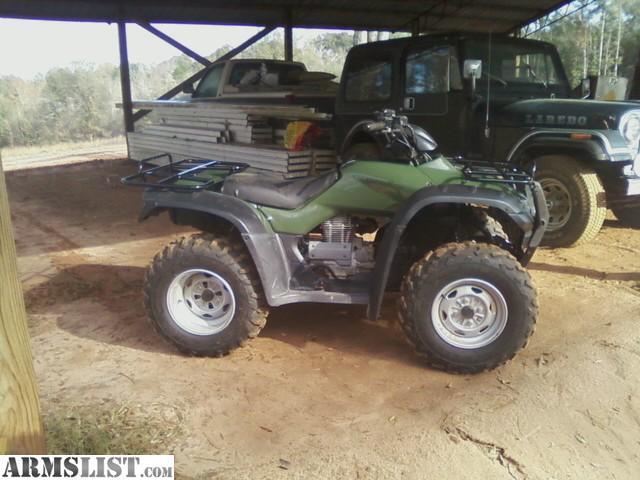 armslist for sale 2005 2wd honda rancher es 350 2300 obo. Black Bedroom Furniture Sets. Home Design Ideas