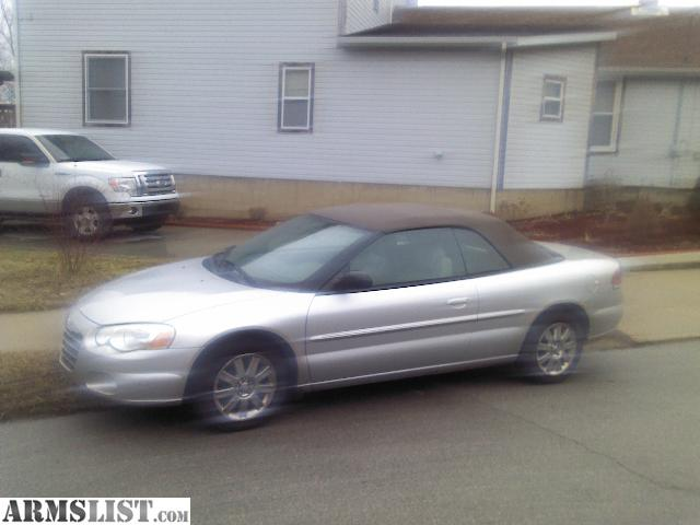 armslist for sale trade 2004 chrysler sebring convertible. Black Bedroom Furniture Sets. Home Design Ideas