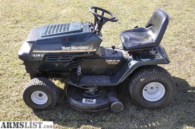 mtd yard machine for sale
