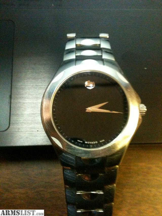 ARMSLIST - For Sale: Men's movado watch!