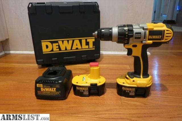 ARMSLIST - For Sale/Trade: Dewalt Cordless Drills