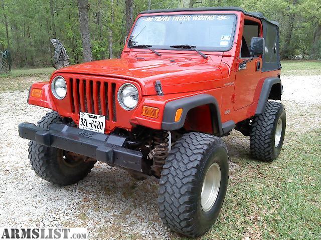 armslist for sale 2000 jeep wrangler tj. Black Bedroom Furniture Sets. Home Design Ideas