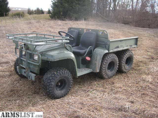 armslist for sale military gator 6x4 diesel. Black Bedroom Furniture Sets. Home Design Ideas