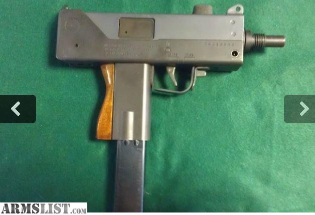 ARMSLIST - For Sale: Ingram M10A1 9mm pistol. MAC 10 pistol