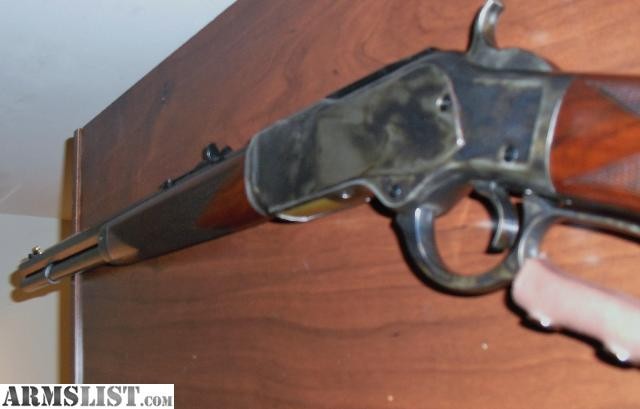 For sale trade uberti 1873 winchester 357 or 38 short rifle deluxe