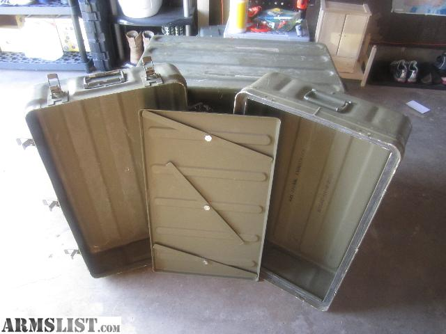 ARMSLIST For Sale Military Storage Containers
