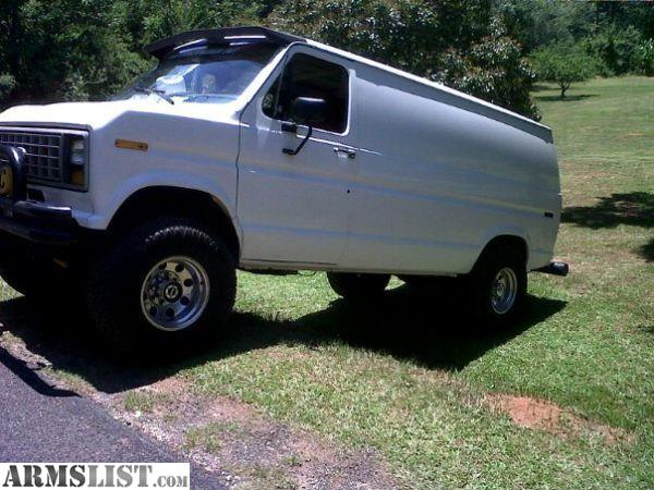 ARMSLIST - For Sale: Ford E250 4x4 cargo van. 351w,