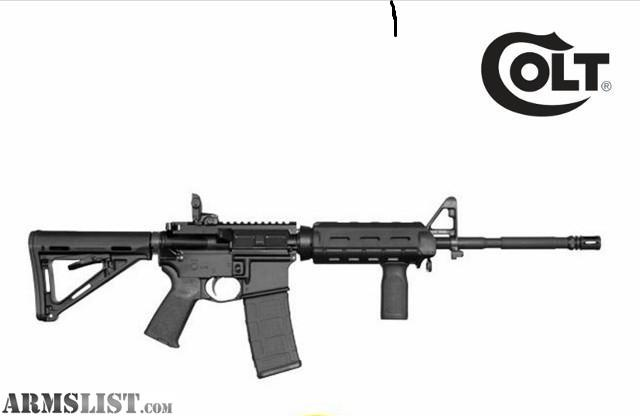 Awesome This Is A New Colt, It Is Chambered In 5.56mm U0026 Will Also Shoot .223. This  Comes In Box With 1 30 Round Magpul Magpul Magazine And Magpul MOE Furniture  Kit ...