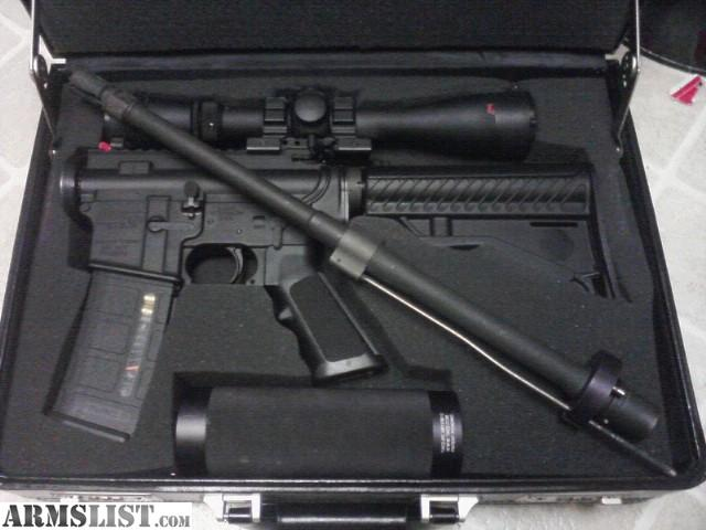 Armslist For Sale Ar15 In A Briefcase True Takedown Rifle