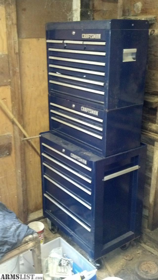 ARMSLIST - For Trade: 16 drawer Craftsman tool chest.