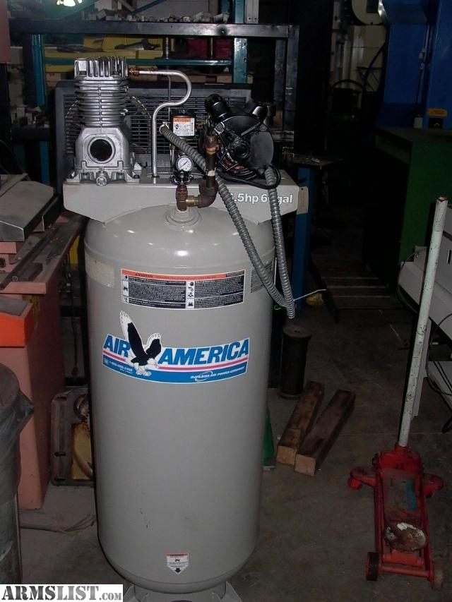 Armslist For Sale Air America 6 5hp 80 Gallon 220v Air