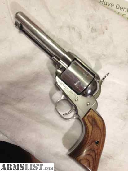 ARMSLIST - For Sale: Ruger New Vaquero CUSTOM FAST DRAW