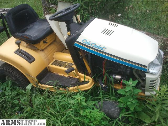 Armslist For Sale Trade Two Lawn Tractors Cub Cadet Ford