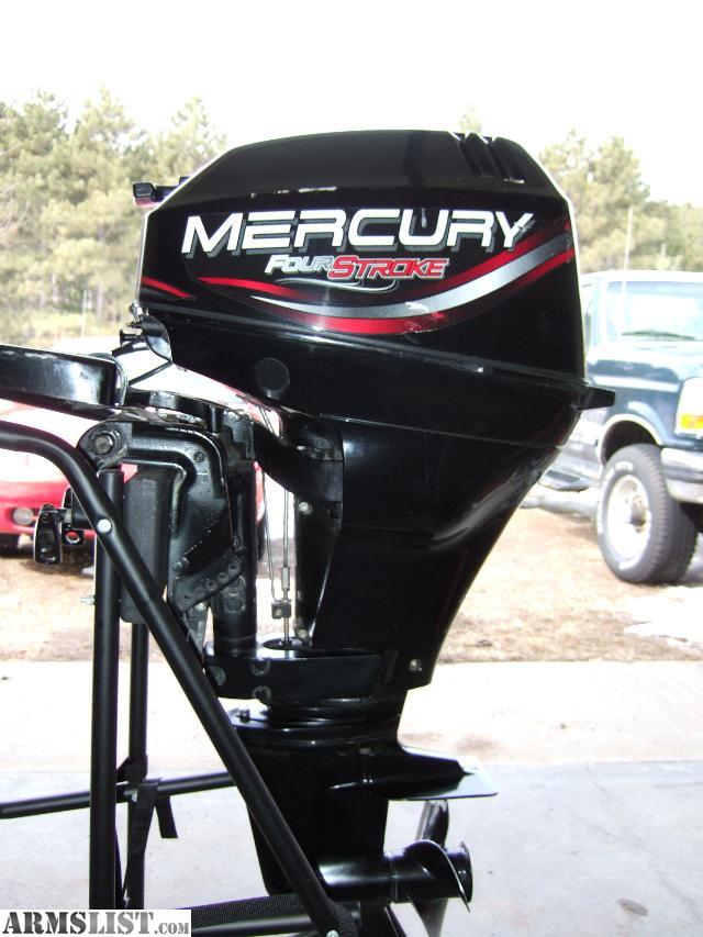Armslist For Sale Mercury 15 Hp 4 Stroke Outboard Motor