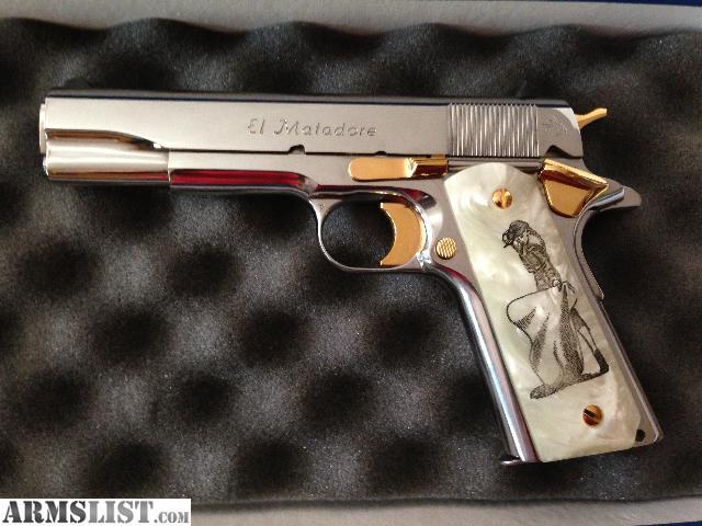 Armslist For Sale Colt 38 Super El Matadore