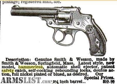 Smith Wesson Safety Hammerless Serial Numbers - casecrise