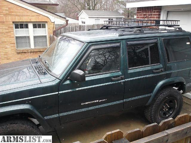 Armslist for sale 1999 jeep cherokee sport forest green 99 jeep cherokee sport with 204000 miles and counting 40l i6 runs and drives great has power windows locks and remote starteralarm sciox Gallery