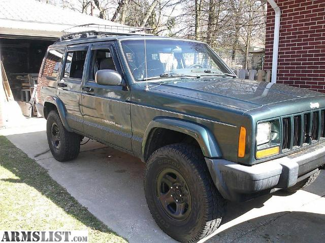 armslist for sale 1999 jeep cherokee sport. Black Bedroom Furniture Sets. Home Design Ideas