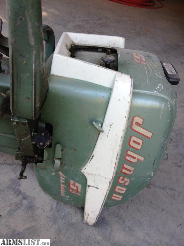 Armslist For Sale Vintage Johnson 5 1 2 Hp Tiller