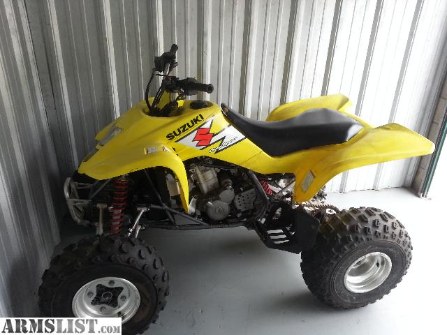 armslist - for trade: 2004 suzuki ltz 400 for your gun/guns