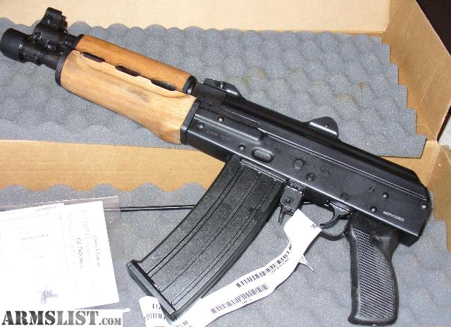 armslist for sale trade 556 223 semi auto pap 30 rd pistol bnib 700 obo. Black Bedroom Furniture Sets. Home Design Ideas