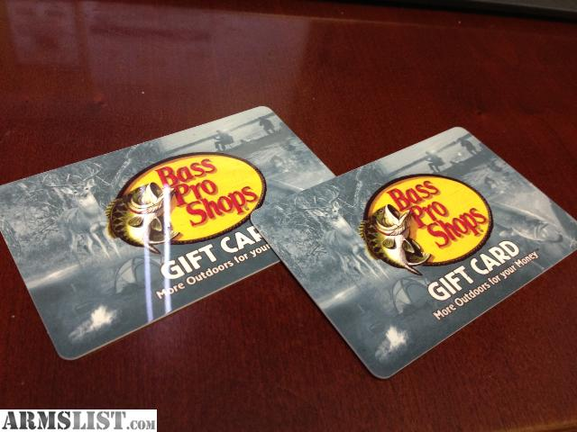 bass pro shop gift card balance armslist for sale two 100 bass pro shop gift cards 9549