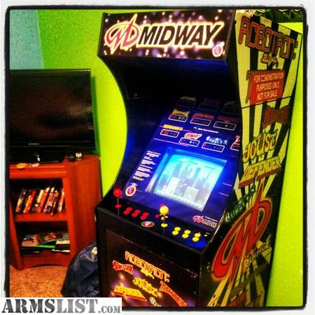 Armslist For Sale Trade Midway 12 In 1 Stand Up Arcade